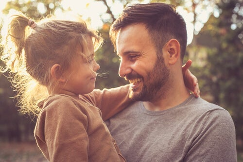 A dad wanting to teach children gratitude.
