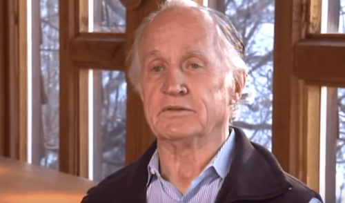 Mario Capecchi during an interview.