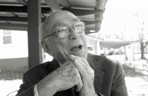 Jerome Bruner talking.
