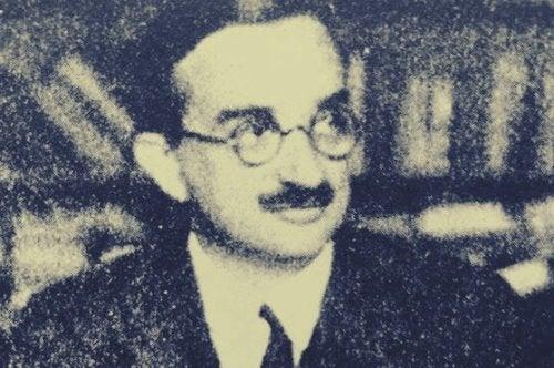 A photo of Géza Róheim.