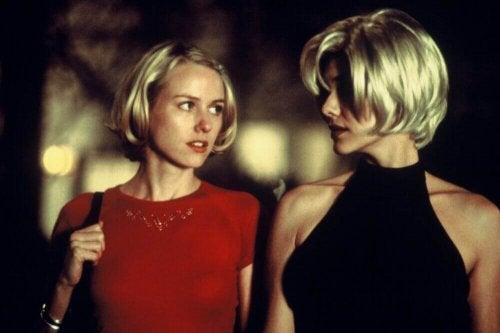 Naomi Watts and Laura Elena Harring in Mulholland Drive.