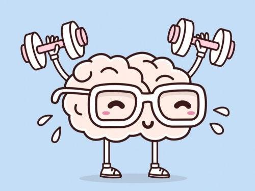 A brain exercising.