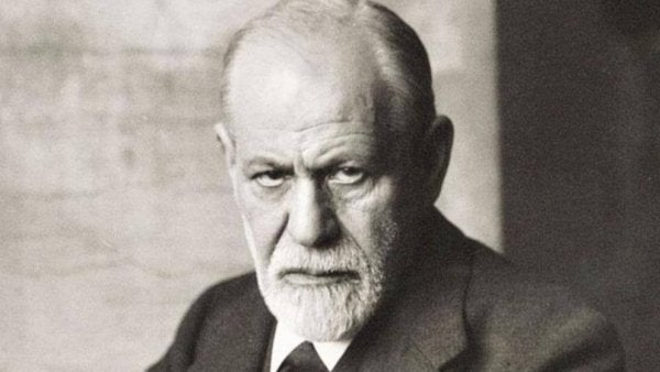 Sigmund Freud, the father of psychoanalysis.