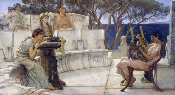 Sappho - Biography of a Silenced Woman