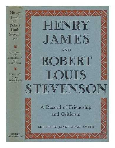 The cover of a book of correspondence between James and Stevenson.
