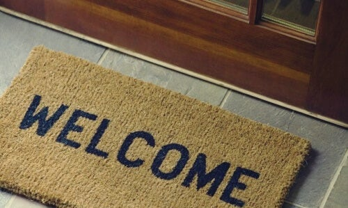 A welcome doormat.
