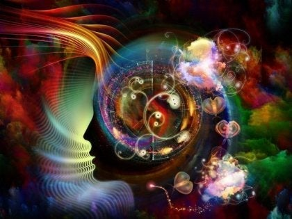 A colorful abstract image of the mind.