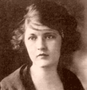 A picture of Zelda Fitzgerald.