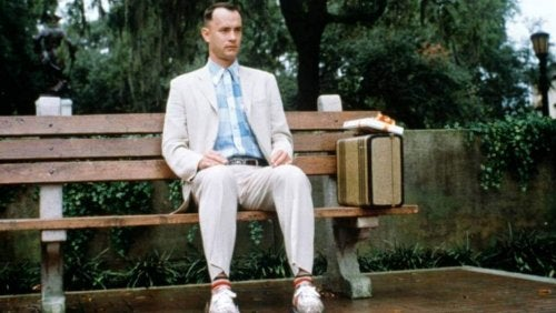 A scene of Forrest Gump.