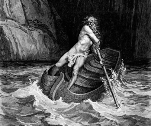 The Myth of Charon, Ferryman of the Underworld