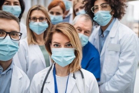 A thank you letter to the doctors and nurses.