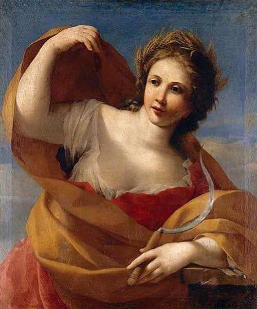 Demeter, the Blonde Goddess