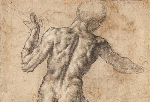A sketch by Michelangelo.
