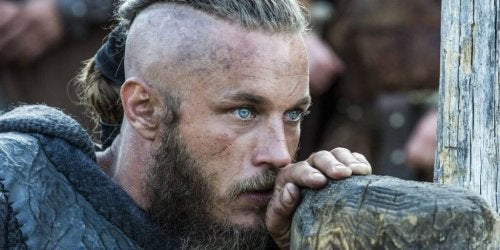 Ragnar Lodbrok caught in thought.