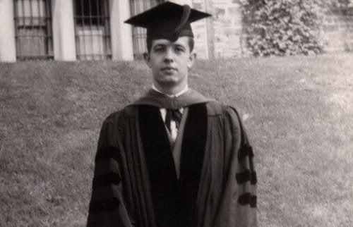 A young John Forbes Nash.
