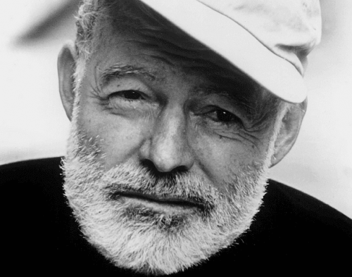 Ernest Hemingway was a historical figure afflicted by depression