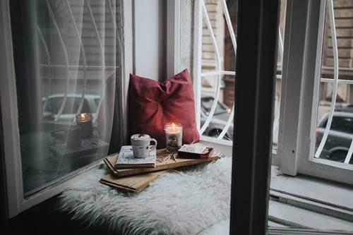 A cozy window.
