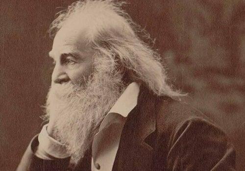 Walt Whitman at an older age.