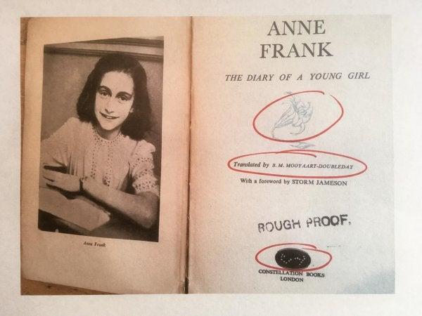 Anne Frank's diary.
