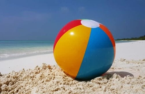 The Beach Ball Metaphor for Emotional Regulation