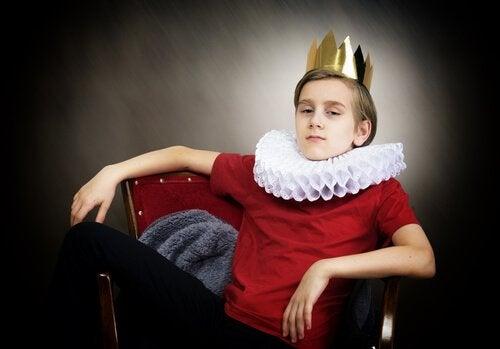 A boy king.