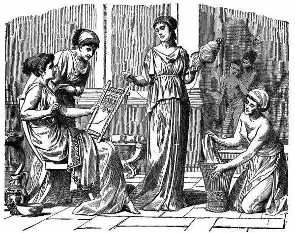 Greek women.