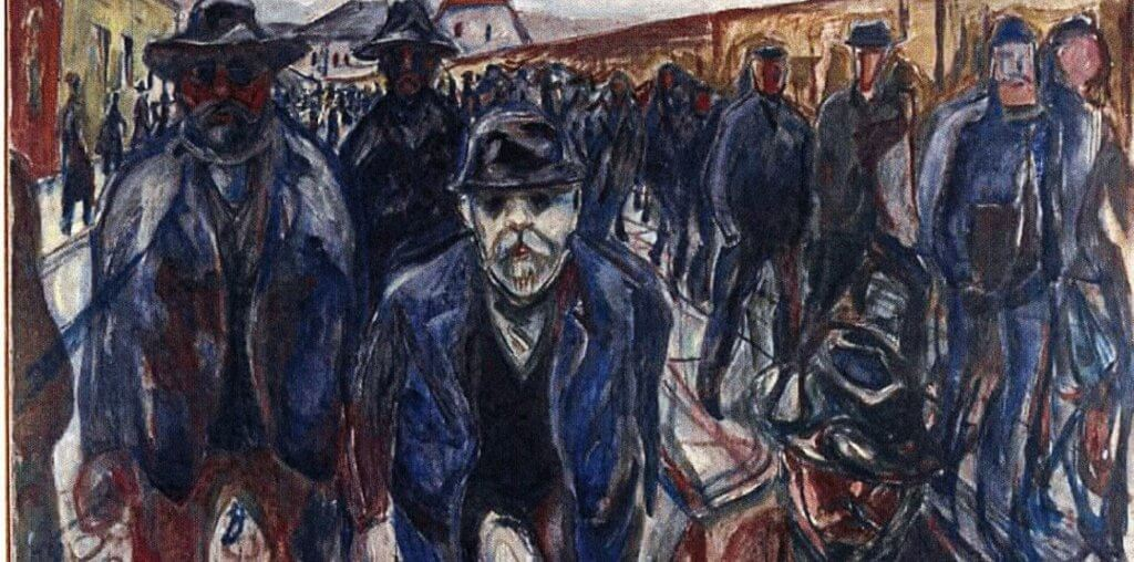 A painting by Munch.