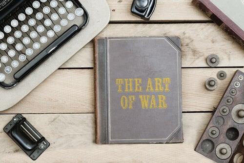 The Art of War book.