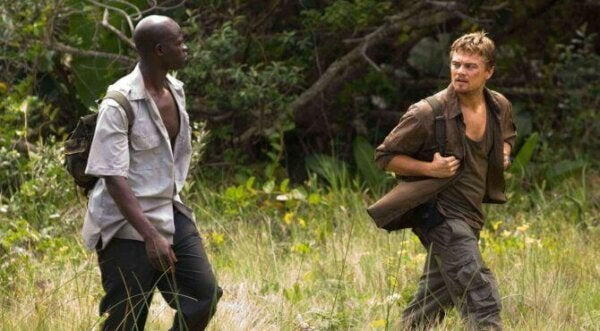 A scene from the movie Blood Diamond.