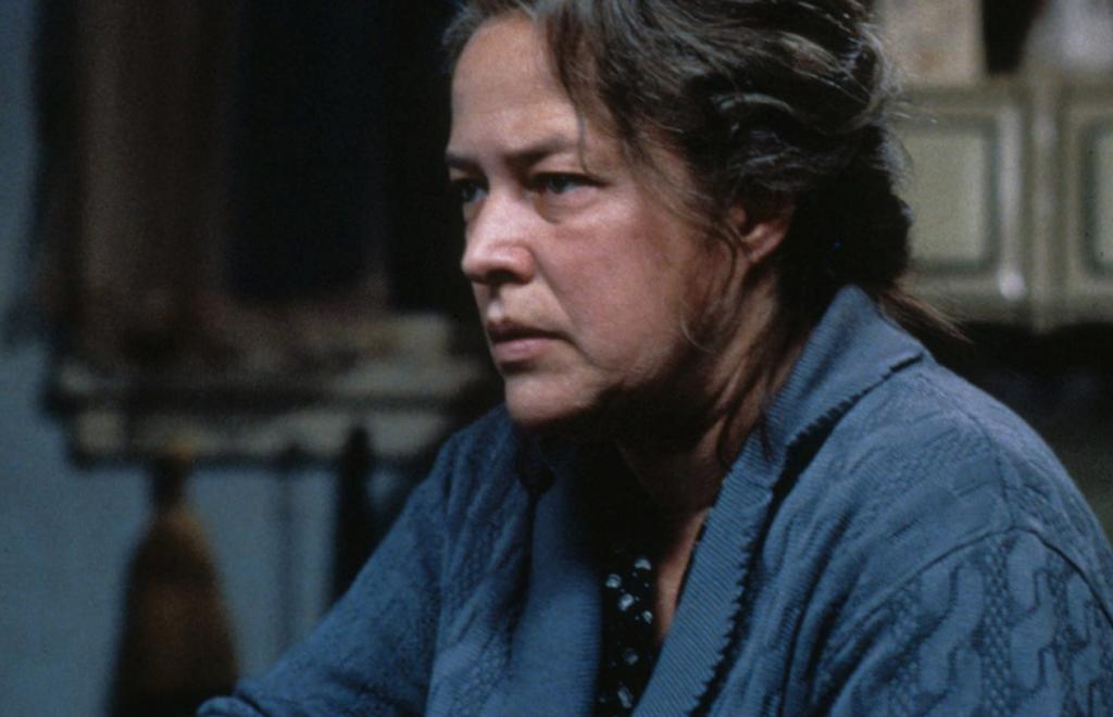 The actress Kathy Bates.