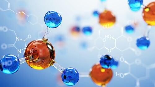 Some molecules.
