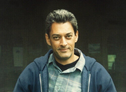 A young Paul Auster.