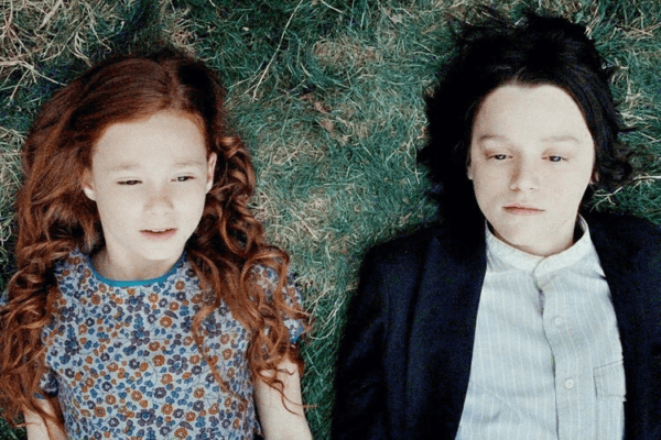 Severus Snape and Lily Potter.