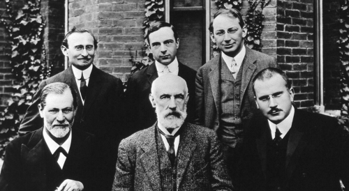 A group of psychoanalysts.