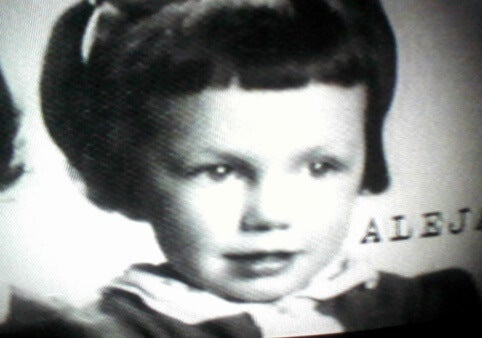 Alejandra Pizarnik as a child.