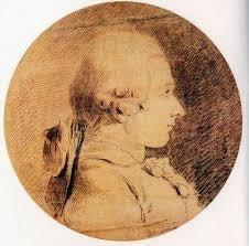 A drawing of Marques de Sade.