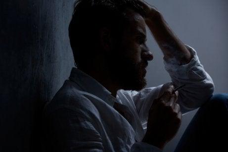 An anxious man.