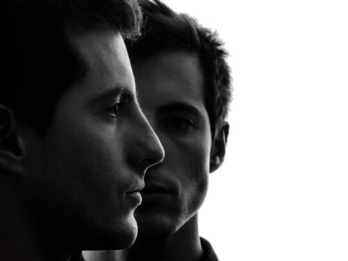 Two men.