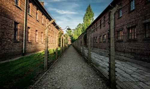 A concentration camp.