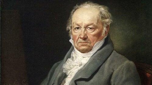 A portrait of Francisco de Goya.