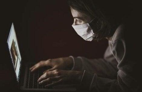 Online dating and coronavirus.