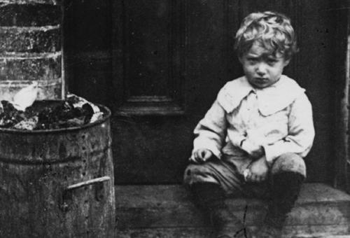 Jack London as a child.
