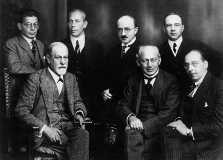 Max Eitingon and other prominent psychoanalysts.
