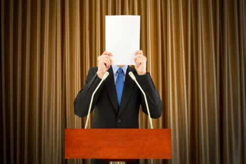 Stage Fright and the Fear of Failure
