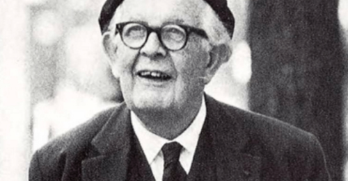 A picture of Jean Piaget.