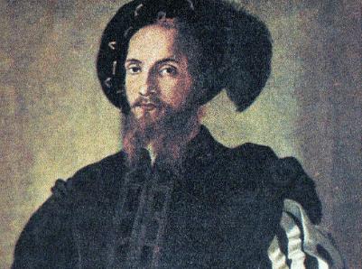 A portrait of a man.