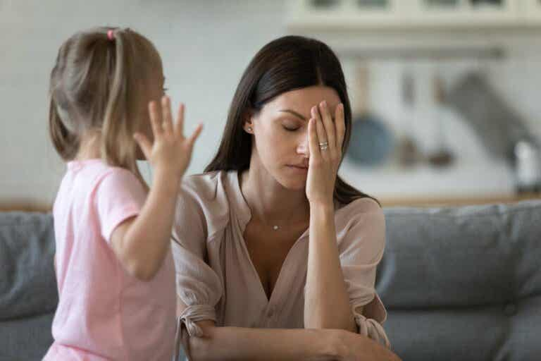 I Can't Stand It When My Child Throws a Tantrum