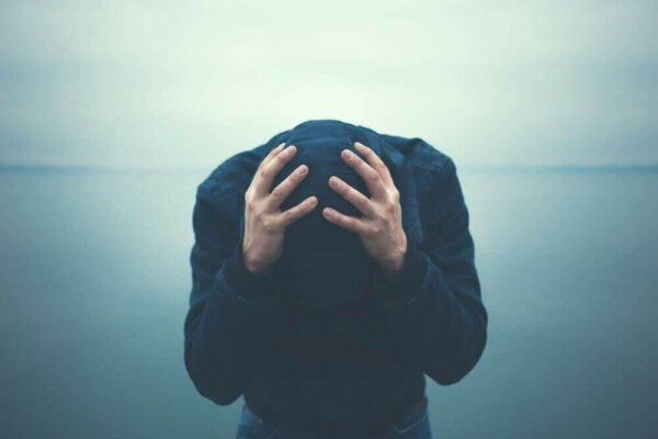 A man with bipolar disorder.