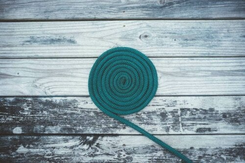A long rope.