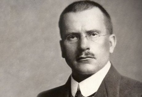 A young picture of Carl Jung.